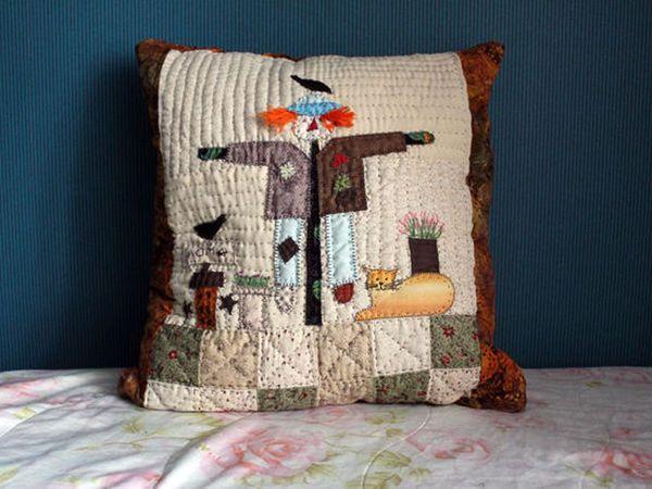 Приглашаю за осенней подушкой! | Ярмарка Мастеров - ручная работа, handmade