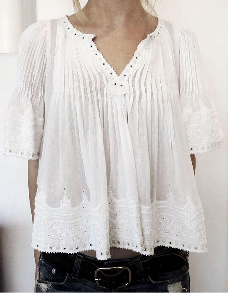 Белое бохо, или Шикарная одежда для королевы летнего пляжа, фото № 52