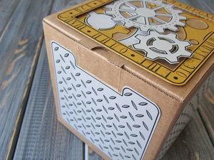 Делаем подарочную коробочку в стиле стимпанк. Ярмарка Мастеров - ручная работа, handmade.