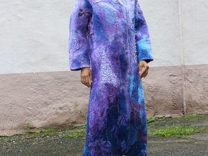 Встречайте Осень Ярко!  Новое пальто. Ярмарка Мастеров - ручная работа, handmade.