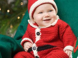 Новогодние шапочки для детей и взрослых | Ярмарка Мастеров - ручная работа, handmade