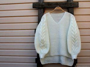 Новая Коллекция свитеров оверсайз.. Ярмарка Мастеров - ручная работа, handmade.