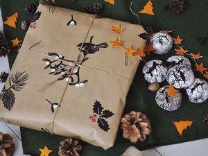 красивая упаковочная бумага своими руками. Ярмарка Мастеров - ручная работа, handmade.