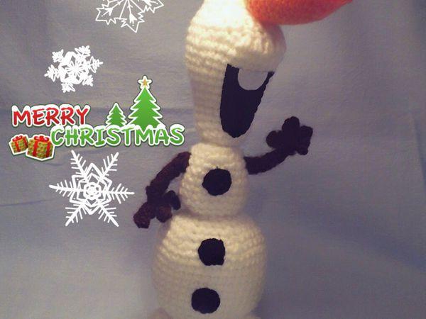 Снеговичок Олаф снова в наличии | Ярмарка Мастеров - ручная работа, handmade