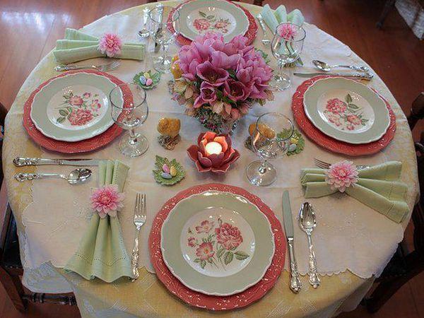 Сервировка стола | Ярмарка Мастеров - ручная работа, handmade