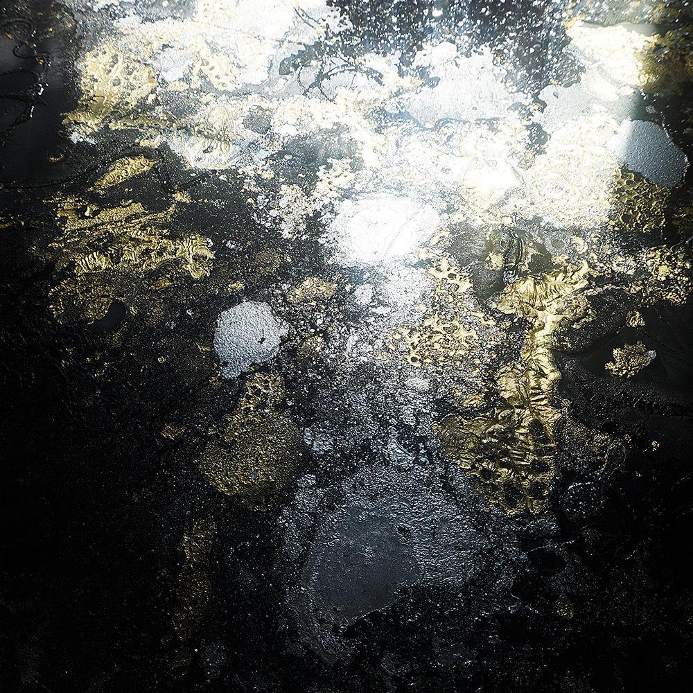 абстракция, черная картина, современная живопись