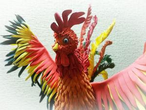 Мастер-класс по созданию новогоднего Пети-петушка, ростом 57 см. Ярмарка Мастеров - ручная работа, handmade.