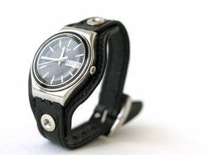 Часы с необычным креплением ремешка. Ярмарка Мастеров - ручная работа, handmade.