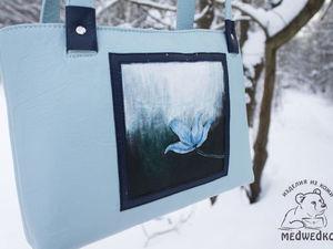 Дополнительные фотографии женской сумки Небесный Цветок. Ярмарка Мастеров - ручная работа, handmade.