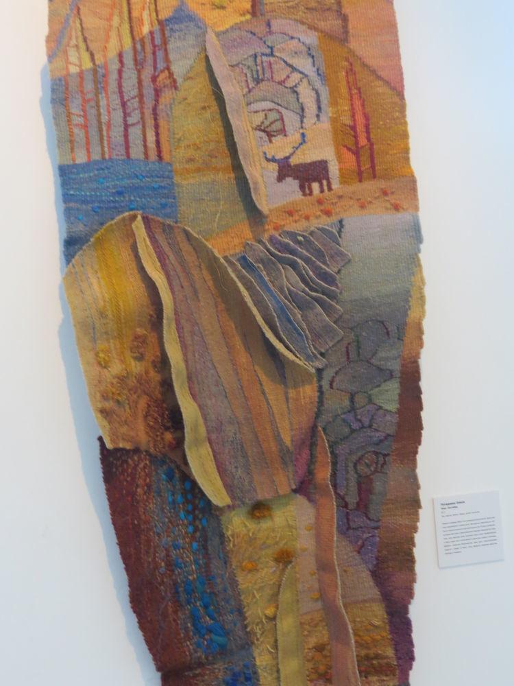Выставка современного гобелена: музей Царицыно