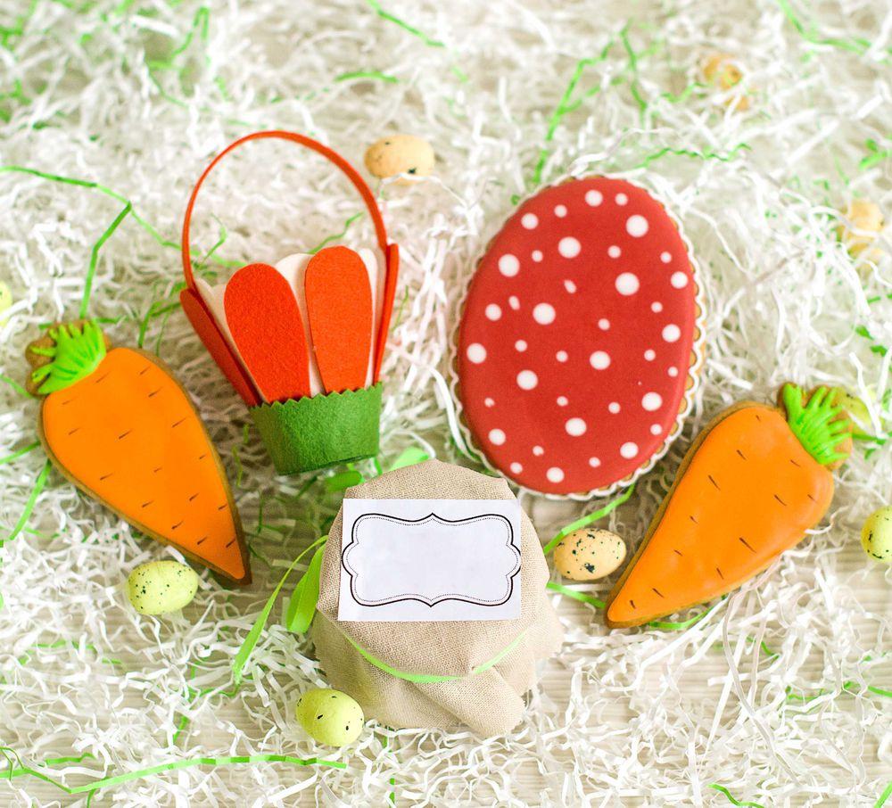 пасхальный декор, морковка