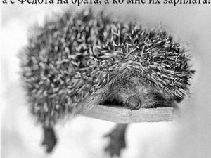 Ёжикина неделя)) | Ярмарка Мастеров - ручная работа, handmade