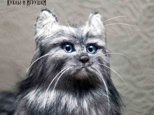 Котенок в натуральный размер. Ярмарка Мастеров - ручная работа, handmade.