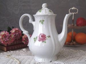 Кофейный набор Роза. Ярмарка Мастеров - ручная работа, handmade.