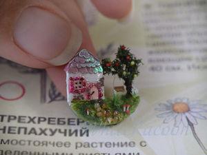 Новинка: домик для феи. Ярмарка Мастеров - ручная работа, handmade.