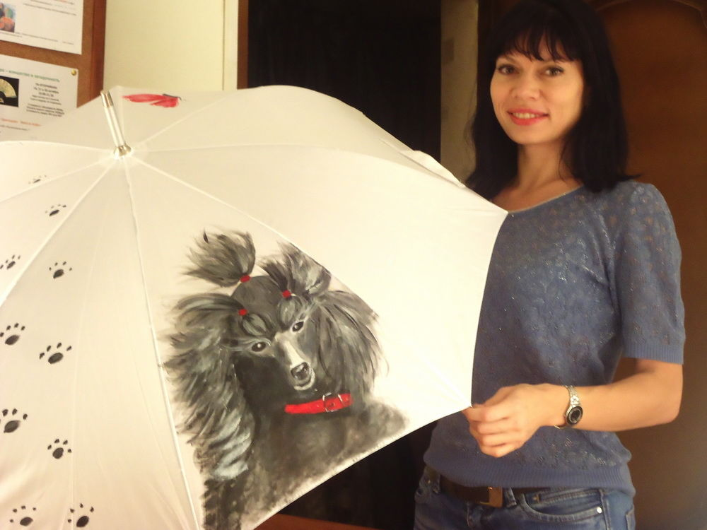 картины на зонтах