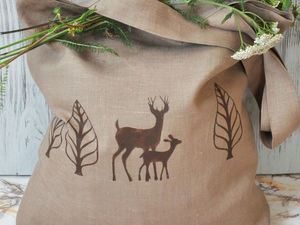 Сумки из натуральных тканей. Ярмарка Мастеров - ручная работа, handmade.