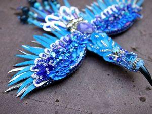 Птица счастья | Ярмарка Мастеров - ручная работа, handmade