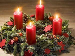 Рождественский венок - история и традиции | Ярмарка Мастеров - ручная работа, handmade