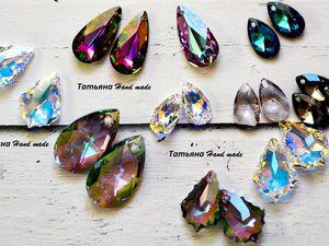 украшения с кристаллами | Ярмарка Мастеров - ручная работа, handmade