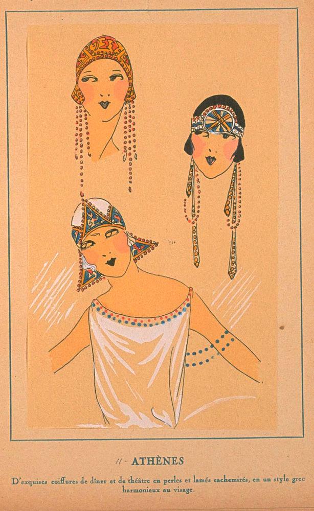 Ах, какие шляпки! Шляпная мода 1922 года по версии французского журнала «Les chapeaux du Tres parisien». Часть 2, фото № 32