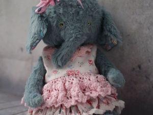 Розыгрывается Слонишка | Ярмарка Мастеров - ручная работа, handmade