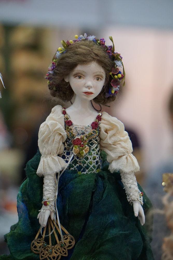 кукла интерьерная, скидки, шарнирная кукла, авторская работа