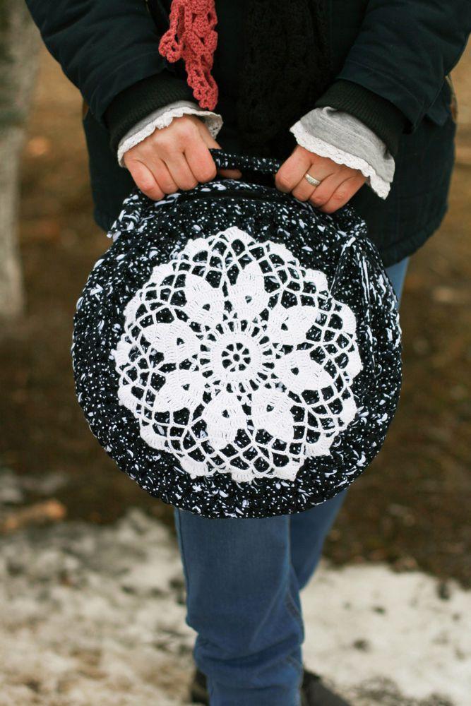 сумка круглая