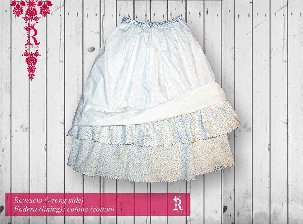 ретро, юбка в цветочек