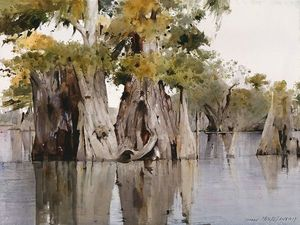 Дин Митчелл и его акварельные пейзажи. Ярмарка Мастеров - ручная работа, handmade.