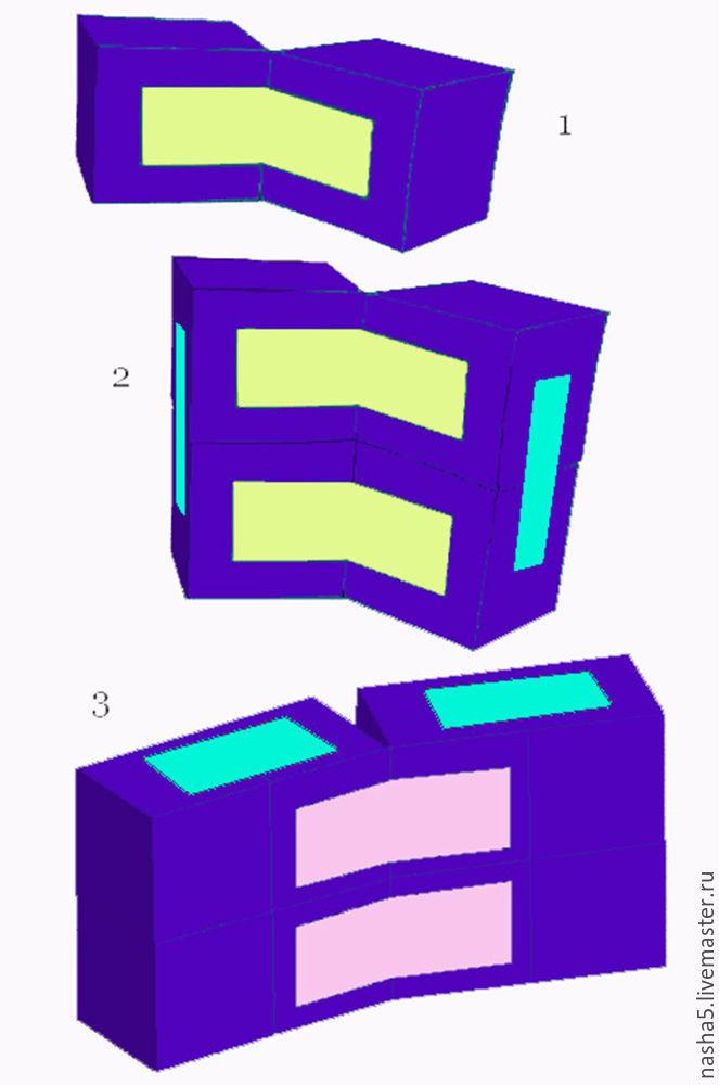 как сделать кубики с картинками своими руками