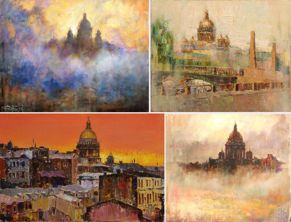 Konstantin Sukhopluev: Artist Painting Rain, фото № 30