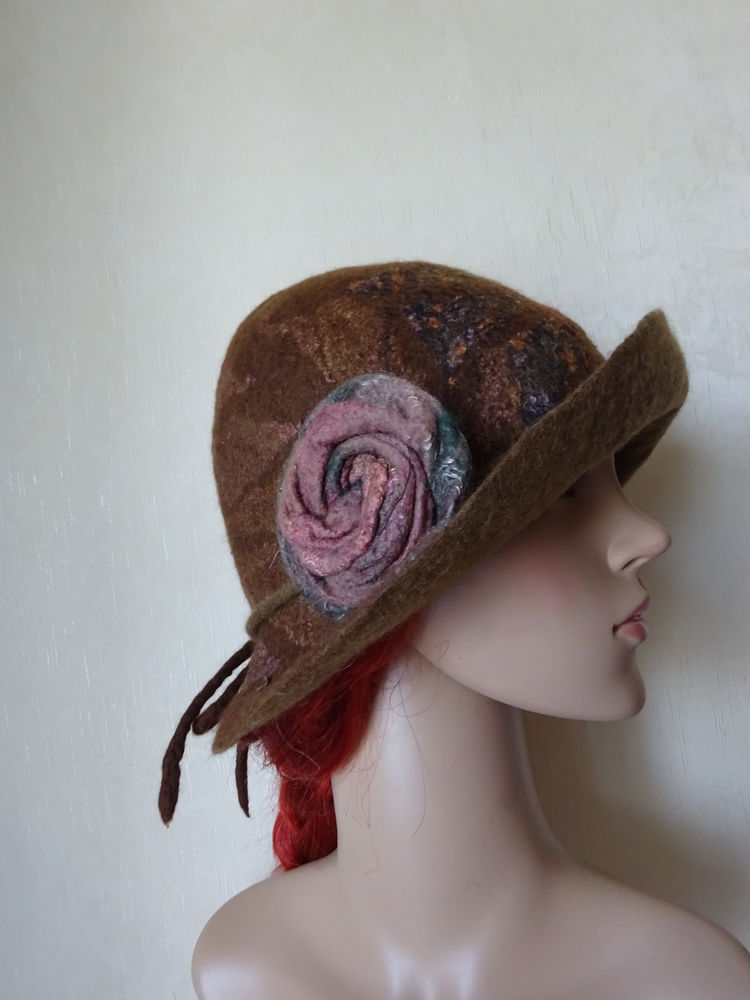 авторские шапки, шапка для осени