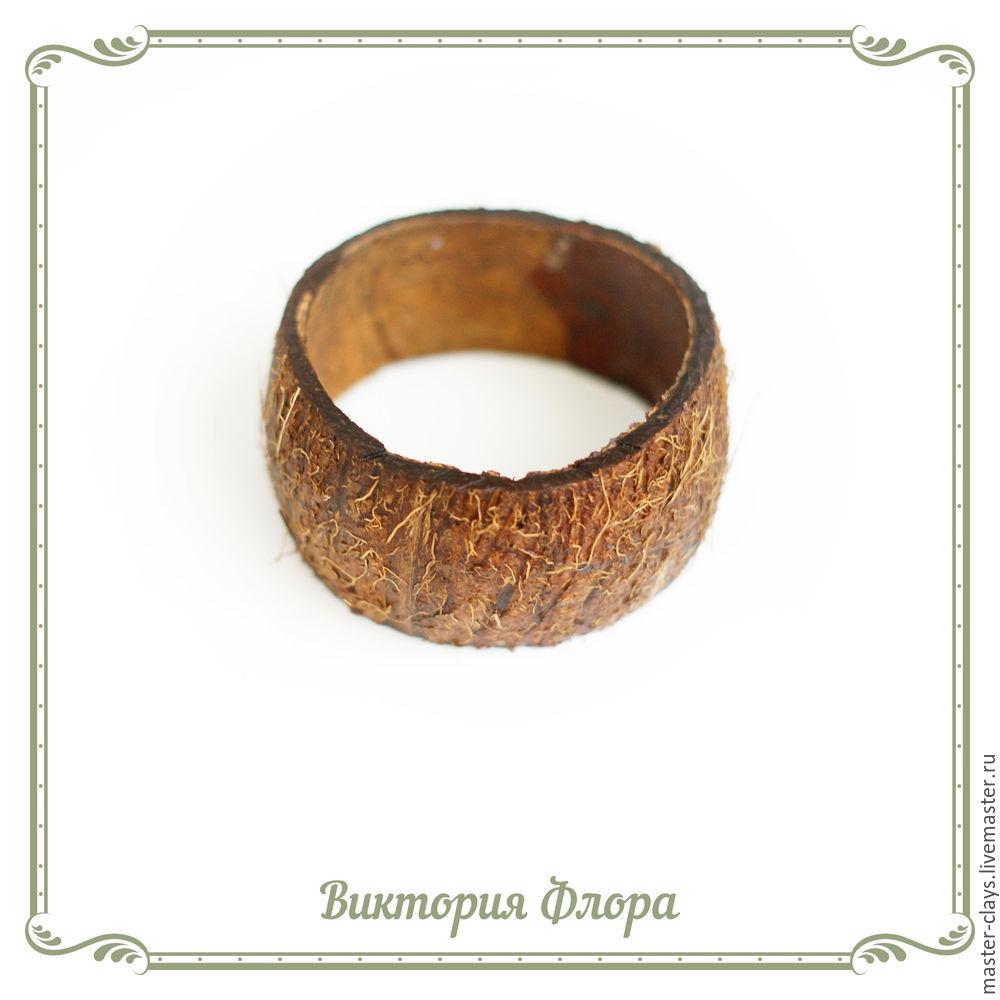 Браслет из кокоса своими руками