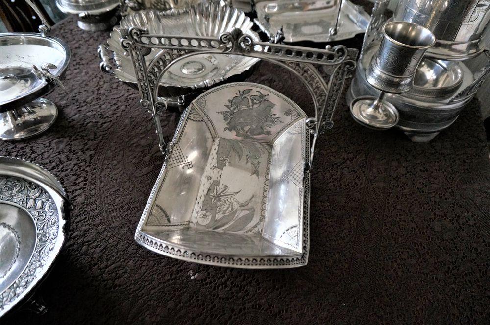 антикварная посуда