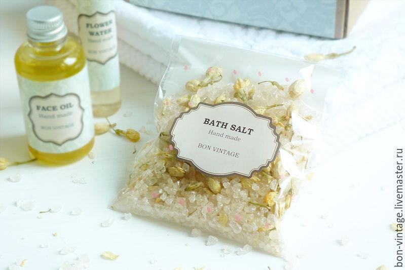 соль для ванны, жасмин, снова в продаже