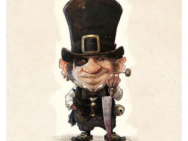 Сказочные персонажи с характером от Jean-Baptiste Monge | Ярмарка Мастеров - ручная работа, handmade