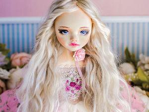 Агнета авторская кукла, интерьерная коллекционная кукла, подарок. Ярмарка Мастеров - ручная работа, handmade.