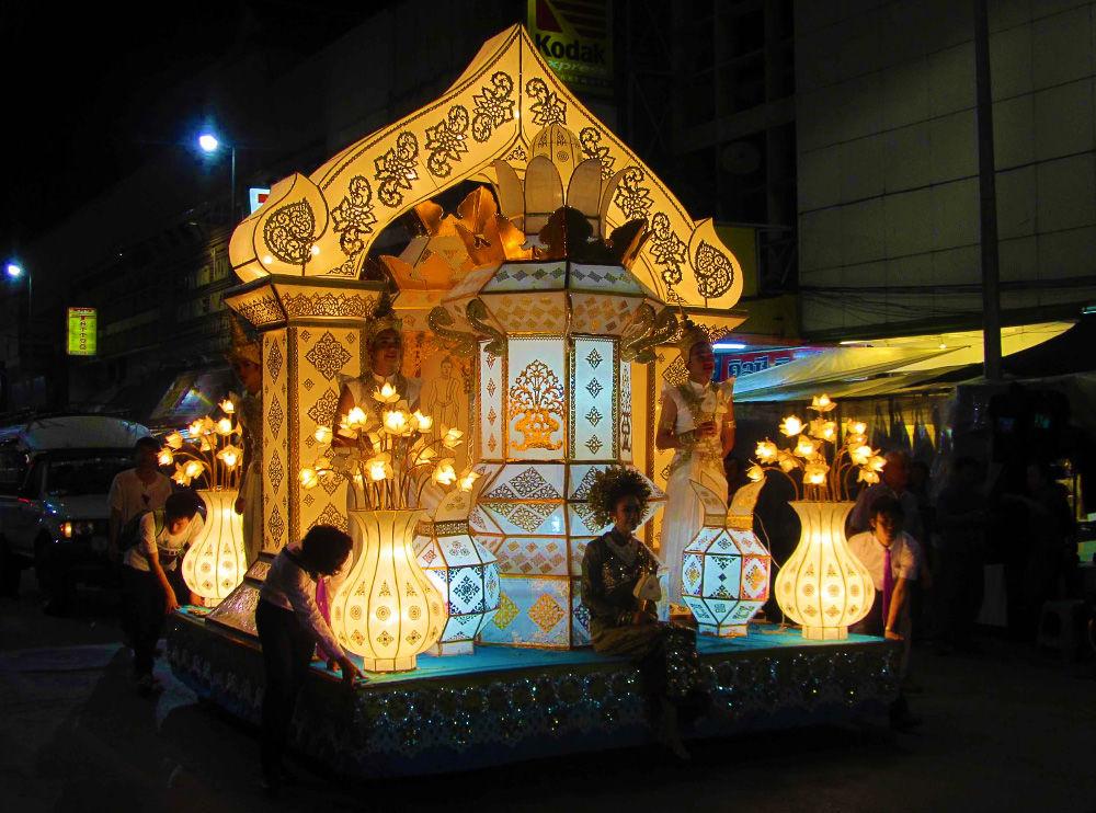 Лои Кратонг, фестиваль летящих огней