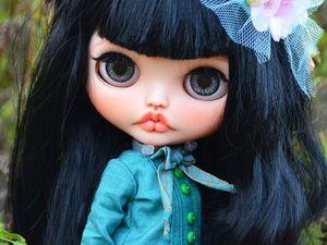 Scarlett O'Hara. New Girl. Custom Blythe. Ярмарка Мастеров - ручная работа, handmade.