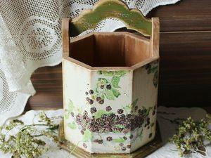 Лукошки из сосны в моем магазине.Больше фото. | Ярмарка Мастеров - ручная работа, handmade