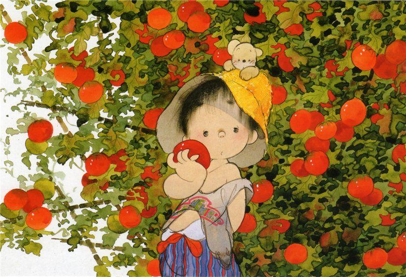 позитивные картинки японского художника ивановскую