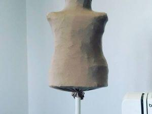 Легко и просто сделать детский манекен своими руками 86 размер!. Ярмарка Мастеров - ручная работа, handmade.