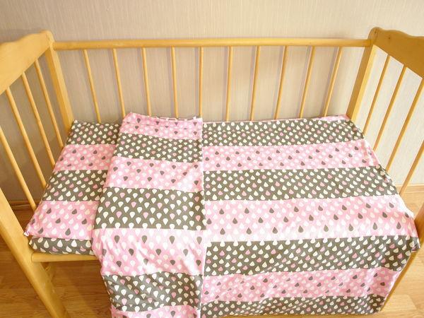 Как сшить постельное белье в детскую кроватку | Ярмарка Мастеров - ручная работа, handmade