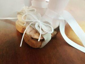 Мастерим для куколки-модницы романтичные босоножки на пробковой подошве. Ярмарка Мастеров - ручная работа, handmade.