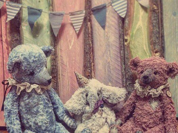 Мастер-класс Мишки Тедди | Ярмарка Мастеров - ручная работа, handmade
