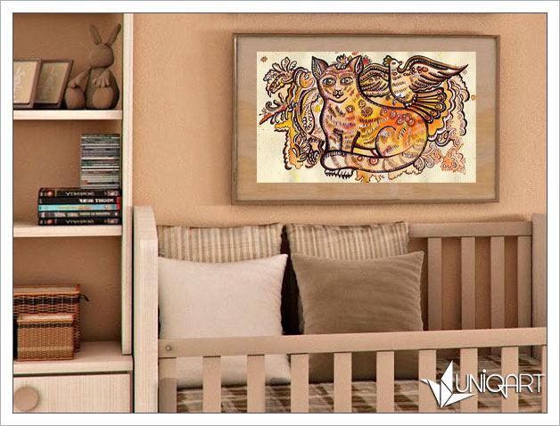 картина с котом, картины для интерьера, авторская работа, купить картину, купить картину в подарок, домашние животные, анималистика
