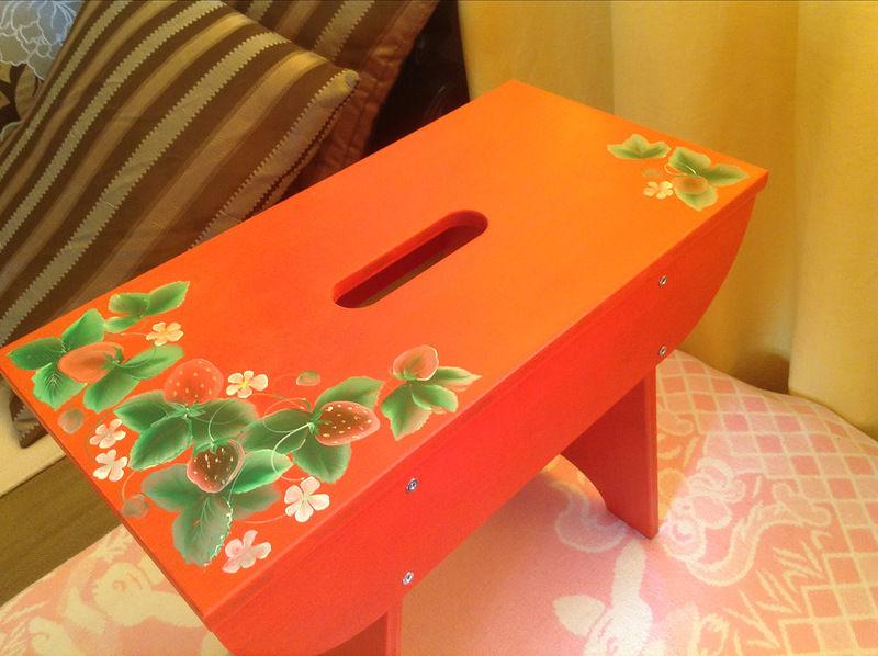 мебель для кукол, курсы роспись мебели