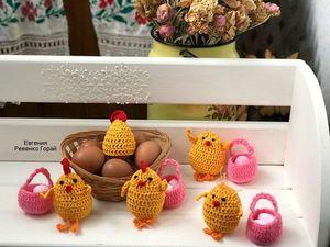 Цыплята к пасхе.. Ярмарка Мастеров - ручная работа, handmade.