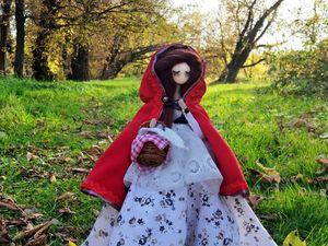 Красная Шапочка от и до. Ярмарка Мастеров - ручная работа, handmade.